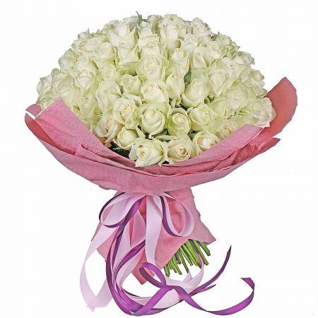 Bouquet Bouquet 101 white roses