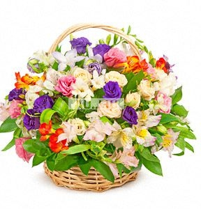 Bouquet Happiness in the basket