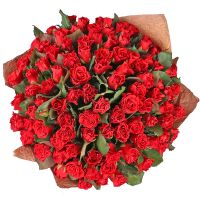 Bouquet 101 red roses El-Toro