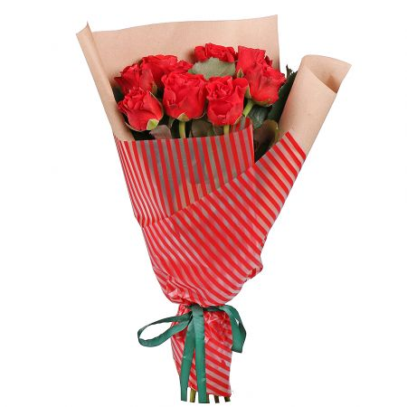 Bouquet 9 red roses