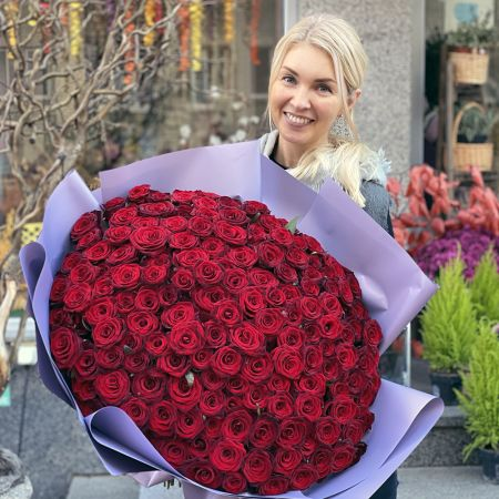 Bouquet Promo! 151 red roses