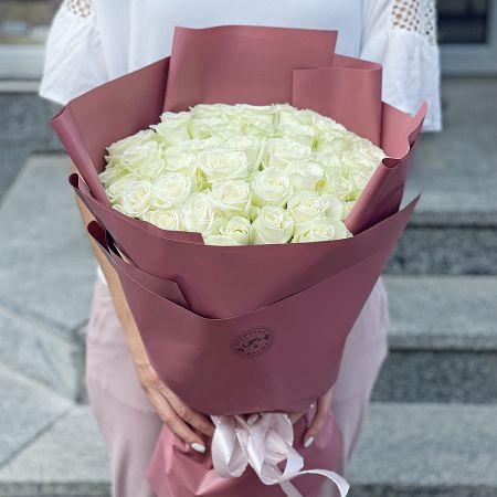Bouquet Promo! 51 white roses