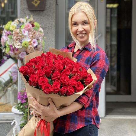 Bouquet Promo! 51 red roses