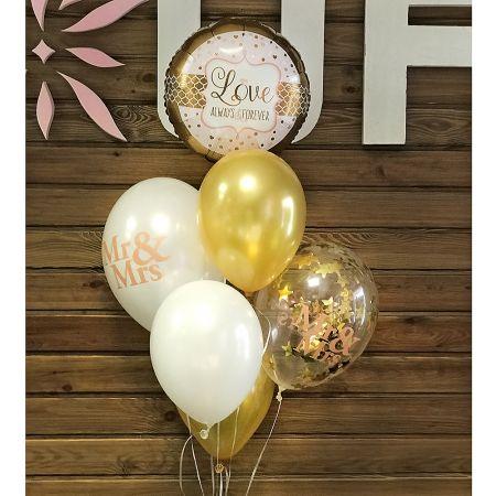 Product Balloon fountain \'Mr&Mrs\'