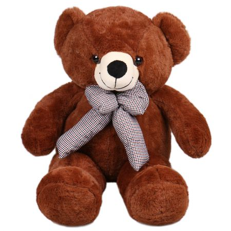 Product Brown teddy with a bow 60 cm