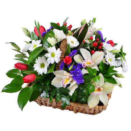 Bouquet Love basket