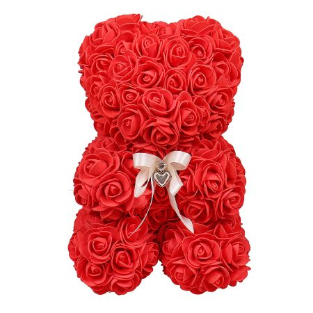 Product Teddy of foamiran roses
