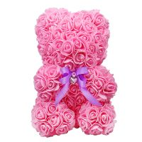 Teddy of synthetic roses