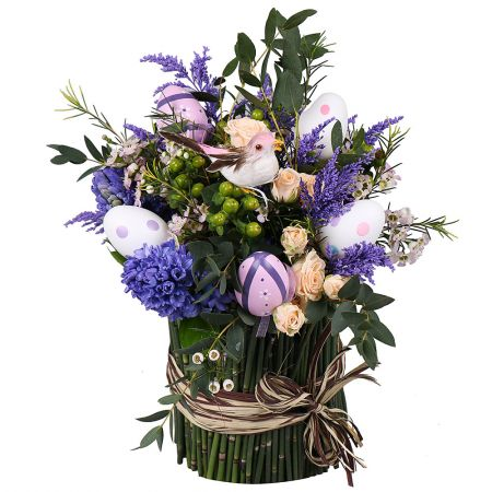 Bouquet Bright lilac