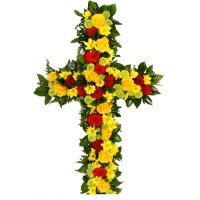 Order funeral arrangement with delivery