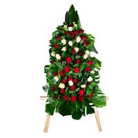 Bouquet Funeral wreath 2