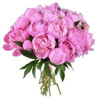 Bouquet Pink peonies