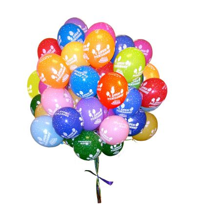 Buy 35 Helium Balloons with delivery