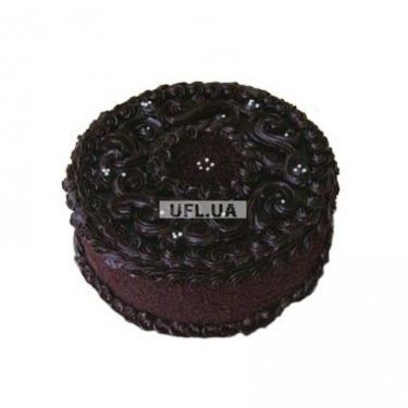 Order chocolate cake for man. Cake delivery in Kiev