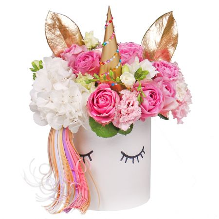 Bouquet Flower Unicorn
