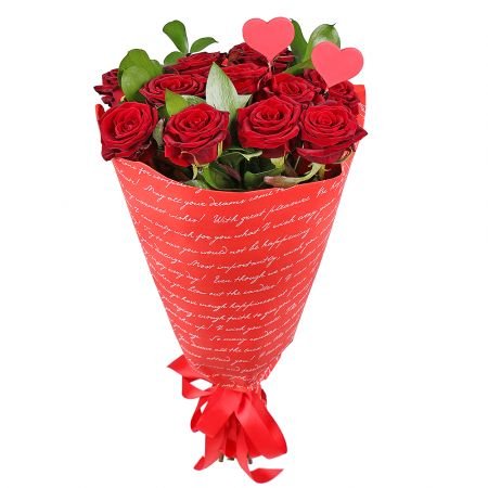 Bouquet Send your feelings 11 roses