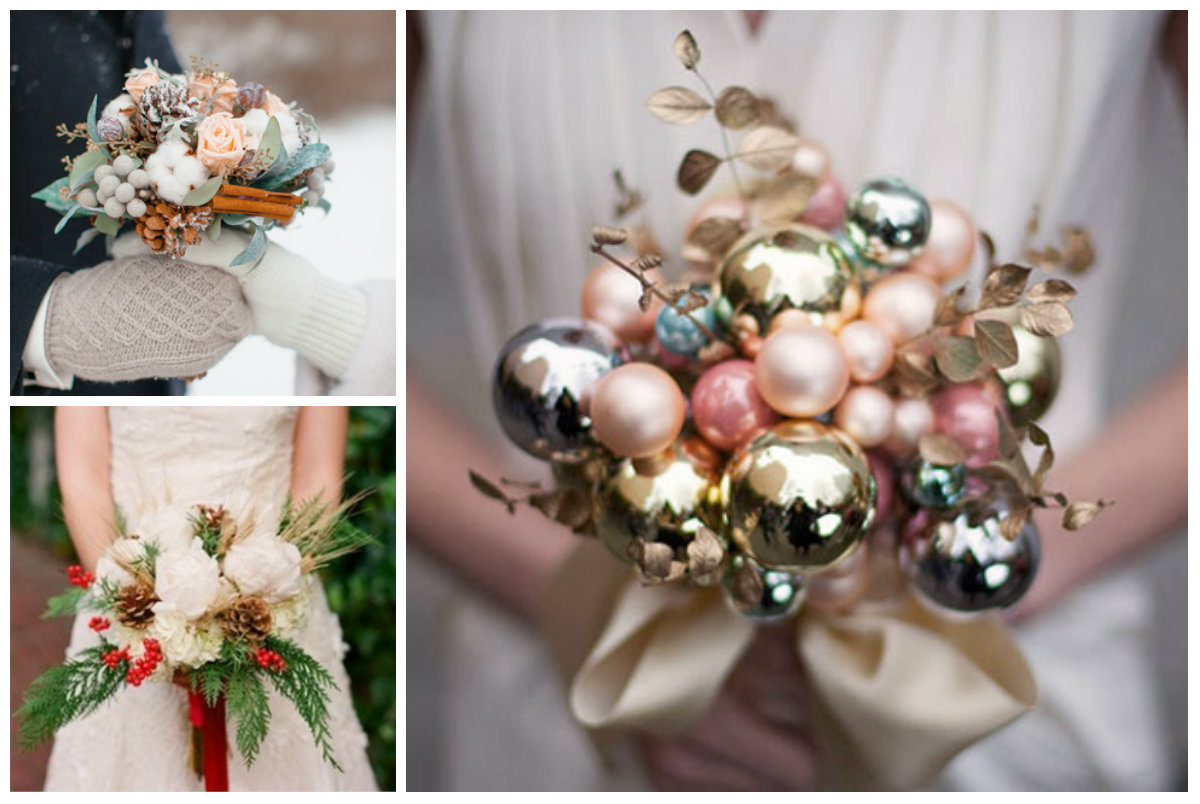 Christmas bouquets
